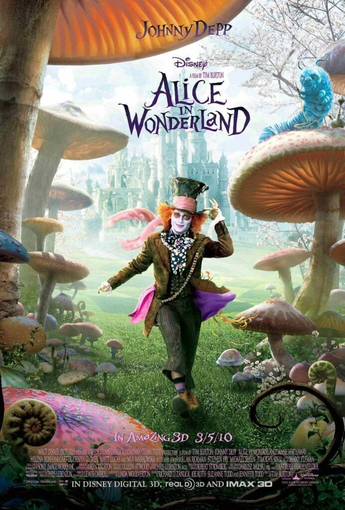 Cat Movies Alice in Wonderland