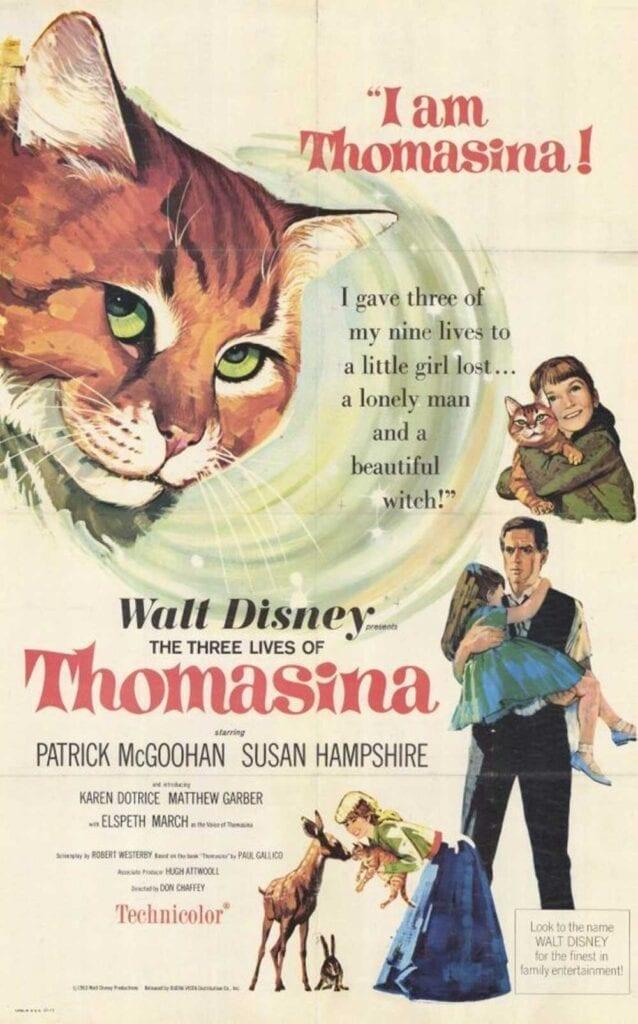Cat Movies The Three Lives of Thomasina