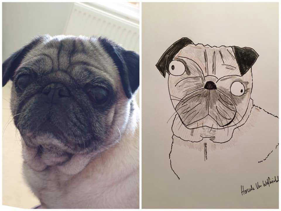 Phil Heckels Horrible Portraits